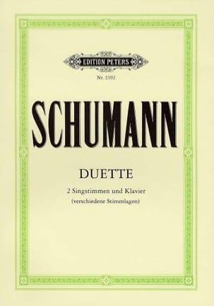 Duette SCHUMANN Partition Duos - laflutedepan
