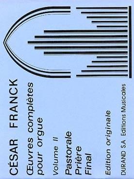 Oeuvres complètes pour orgue - Volume 2 FRANCK Partition laflutedepan