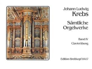 Sämtliche Orgelwerke Volume 4 Johann Ludwig Krebs laflutedepan