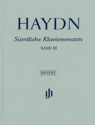 Sonates Pour Piano - Volume 3 - Edition RELIEE - laflutedepan.com