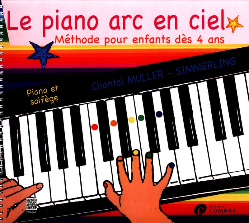 Le Piano Arc en Ciel - Partition - Piano - laflutedepan.be