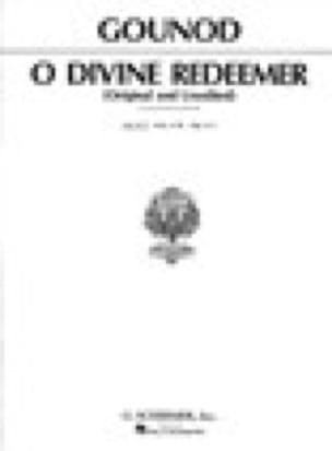 O Divine Redeemer. Voix Grave - GOUNOD - Partition - laflutedepan.com