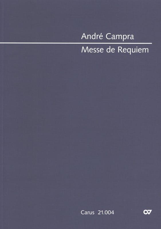 Messe de Requiem. Conducteur - CAMPRA - Partition - laflutedepan.com
