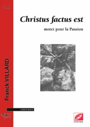 Christus factus est choeur a cappella - laflutedepan.com