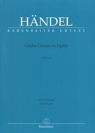Giulio Cesare In Egitto. HWV 17 HAENDEL Partition laflutedepan