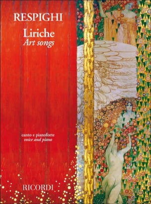Liriche RESPIGHI Partition Mélodies - laflutedepan