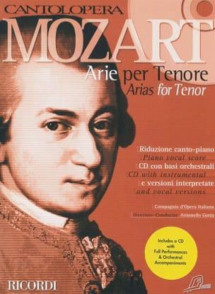 Arie Per Tenore - MOZART - Partition - Opéras - laflutedepan.com