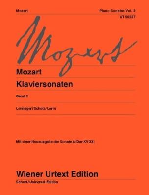 Sonates Volume 2 - Nouvelle Edition MOZART Partition laflutedepan