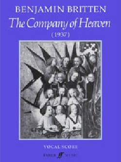 The Company Of Heaven BRITTEN Partition Chœur - laflutedepan