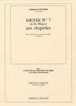 Messe Brève N°7 En Do Majeur GOUNOD Partition Chœur - laflutedepan