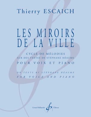 Les miroirs de la ville - Thierry Escaich - laflutedepan.com