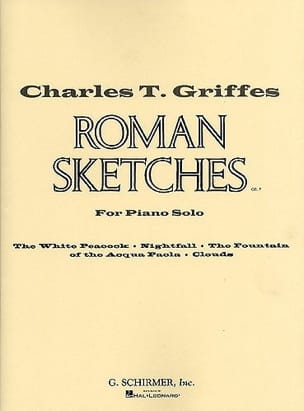 Roman sketches Charles Griffes Partition Piano - laflutedepan