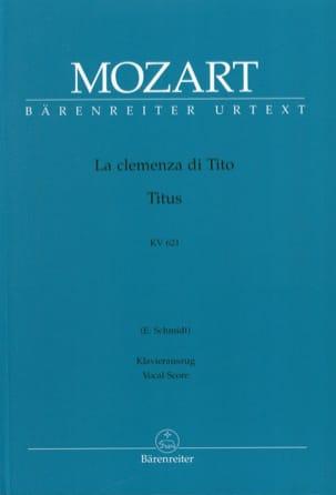 La Clemenza Di Tito K 621 MOZART Partition Opéras - laflutedepan