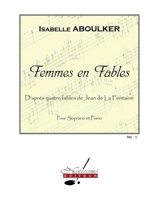 Femmes en Fables - Isabelle Aboulker - Partition - laflutedepan.com