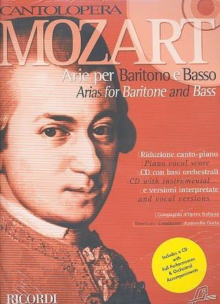 Arie Per Baritono E Basso - MOZART - Partition - laflutedepan.com