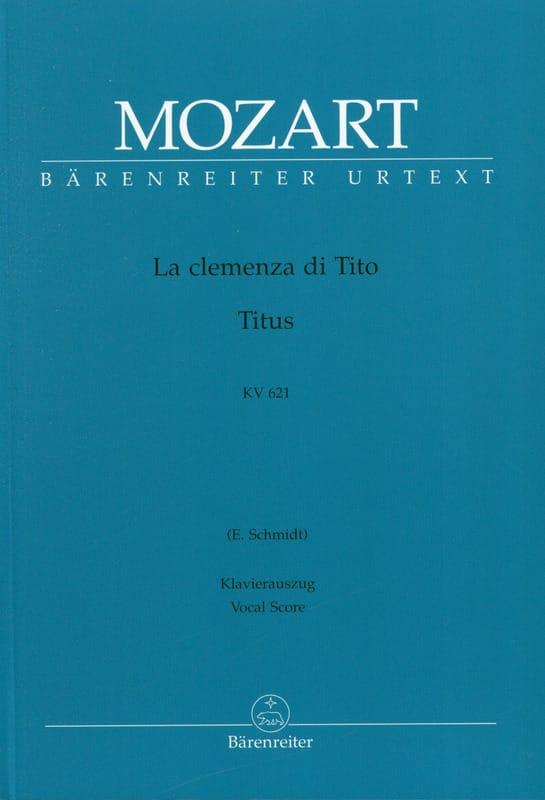 La Clemenza Di Tito K 621 - MOZART - Partition - laflutedepan.com