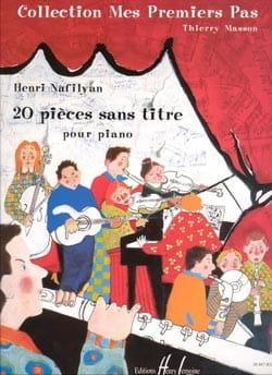 20 Pièces Sans Titre Henri Nafilyan Partition Piano - laflutedepan