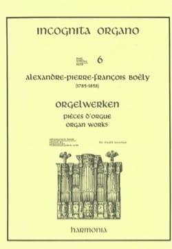 7 Pièces D'orgue Alexandre Pierre François Boëly laflutedepan