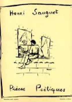 Pièces Poétiques Volume 1 Henri Sauguet Partition Piano - laflutedepan