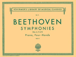 BEETHOVEN - Symphonies 6 to 9. Volume 2. 4 Hands - Partition - di-arezzo.co.uk