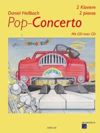 Pop-Concerto Daniel Hellbach Partition Piano - laflutedepan