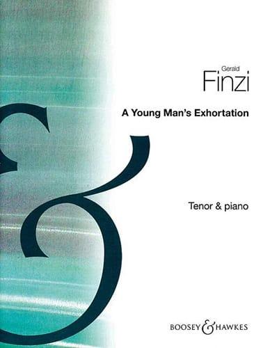 A Young Man's Exhortation Op. 74 - Gerald Finzi - laflutedepan.com