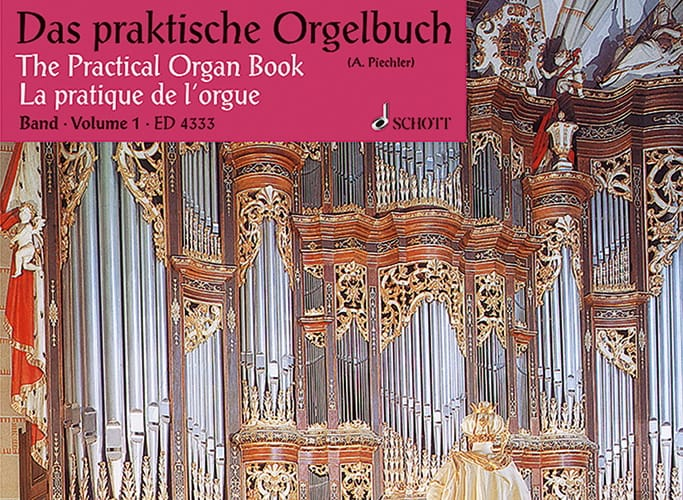 La pratique de l'Orgue - Volume 1 - Partition - laflutedepan.com