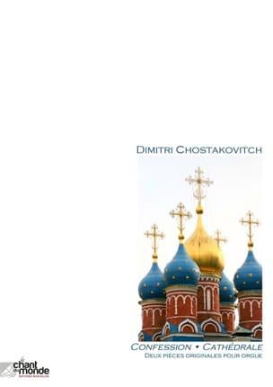 2 pièces originales pour orgue CHOSTAKOVITCH Partition laflutedepan