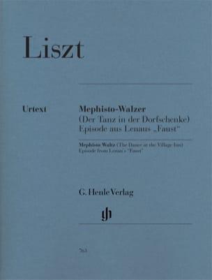Mephisto-Valse 1ère LISZT Partition Piano - laflutedepan
