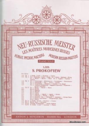 Prélude - Opus 12 N° 7 - PROKOFIEV - Partition - laflutedepan.be