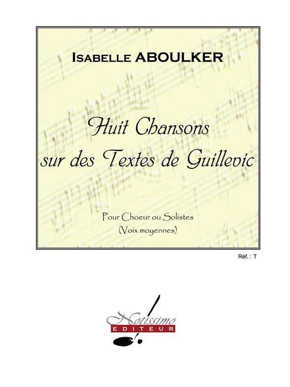 8 Chansons sur des Textes de Guillevic - laflutedepan.com