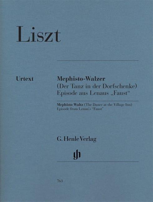 Mephisto-Valse 1ère - LISZT - Partition - Piano - laflutedepan.com