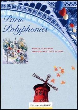 Paris Polyphonies Partition Chœur - laflutedepan