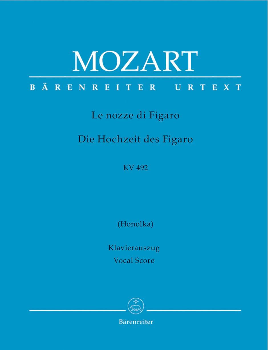 Le Nozze Di Figaro K 492 - MOZART - Partition - laflutedepan.com