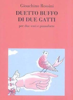 Gioachino Rossini - Duetto Buffo Di 2 Gatti - Partition - di-arezzo.fr