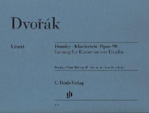 Dumky Opus 90. 4 Mains - DVORAK - Partition - Piano - laflutedepan.com
