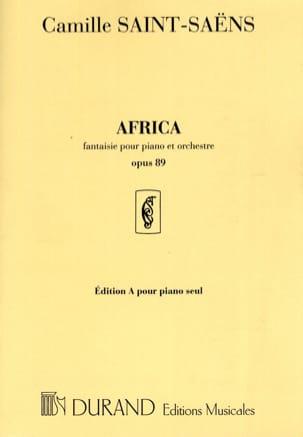 Africa Op. 89. Piano Seul SAINT-SAËNS Partition Piano - laflutedepan