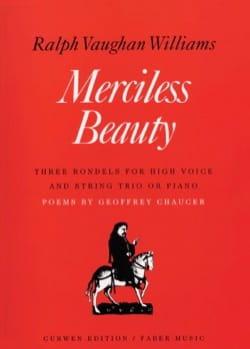 Merciless Beauty Williams Vaughan Partition Mélodies - laflutedepan