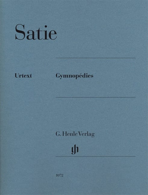 3 Gymnopédies - SATIE - Partition - Piano - laflutedepan.com