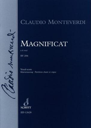 Magnificat Sv 206 MONTEVERDI Partition Chœur - laflutedepan