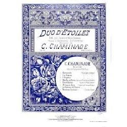 Duo d'étoiles op. 71-5 Cécile Chaminade Partition Duos - laflutedepan