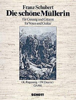 Die Schöne Müllerin D 795 Chant Guitare SCHUBERT laflutedepan