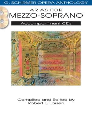 Opera Anthology: Arias pour Mezzo. Accompagnement 2 CDs laflutedepan