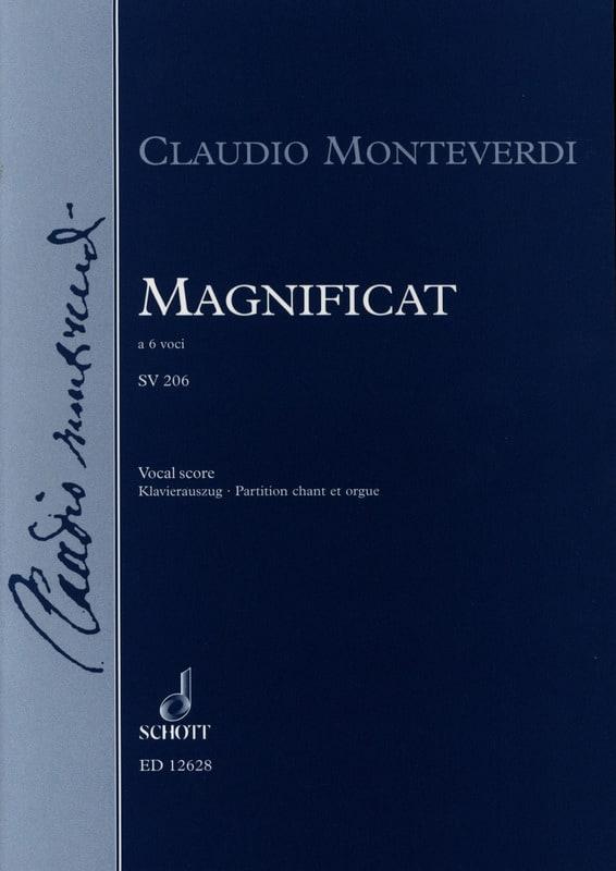 Magnificat Sv 206 - MONTEVERDI - Partition - Chœur - laflutedepan.com