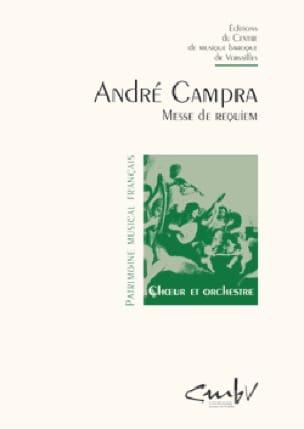 Requiem. - CAMPRA - Partition - Chœur - laflutedepan.com