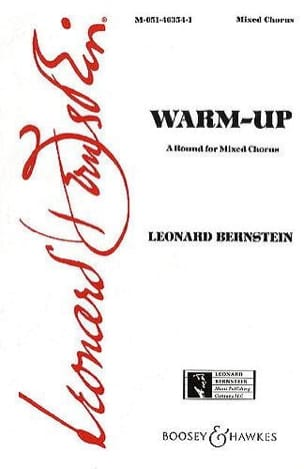 Warm Up BERNSTEIN Partition Chœur - laflutedepan