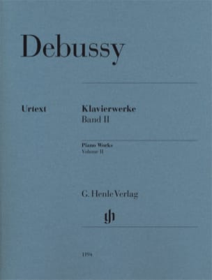 Oeuvre pour Piano Volume 2 DEBUSSY Partition Piano - laflutedepan