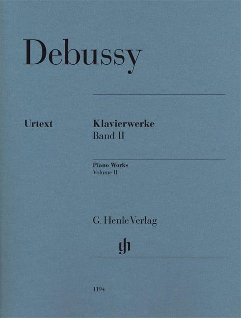 Oeuvre pour Piano Volume 2 - DEBUSSY - Partition - laflutedepan.com
