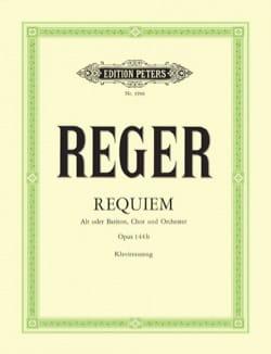 Requiem Op. 144b Max Reger Partition Chœur - laflutedepan