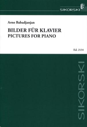 Bilder für Klavier Arno Babadjanian Partition Piano - laflutedepan